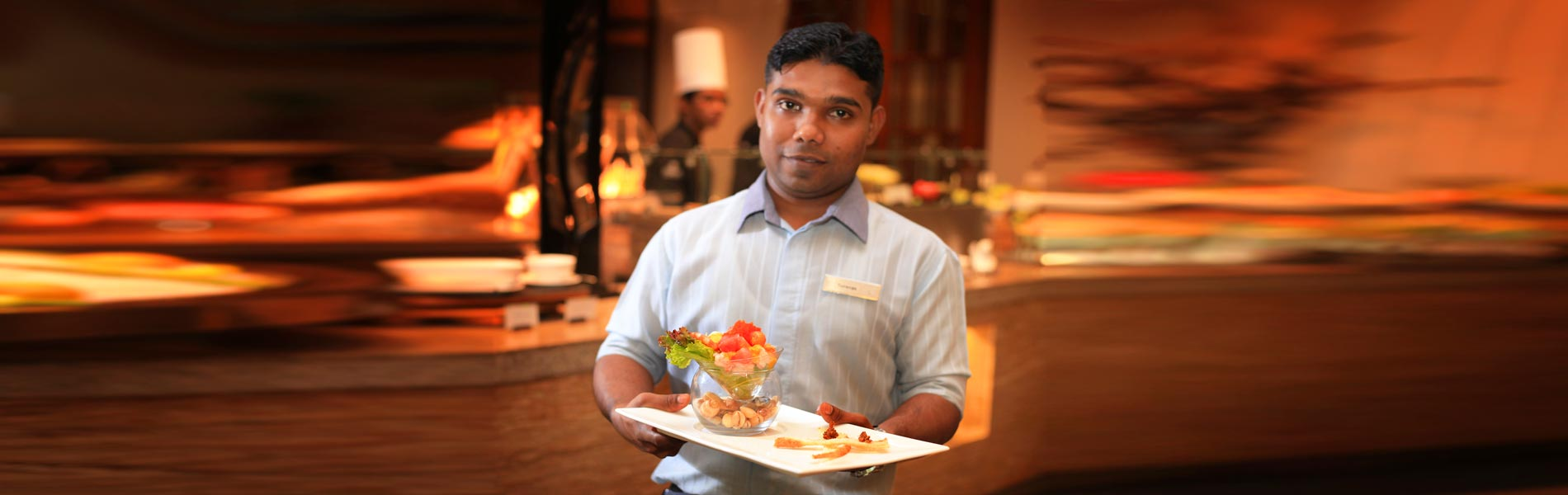Friendly and professional team to guide you through the A La Carte or Buffet options