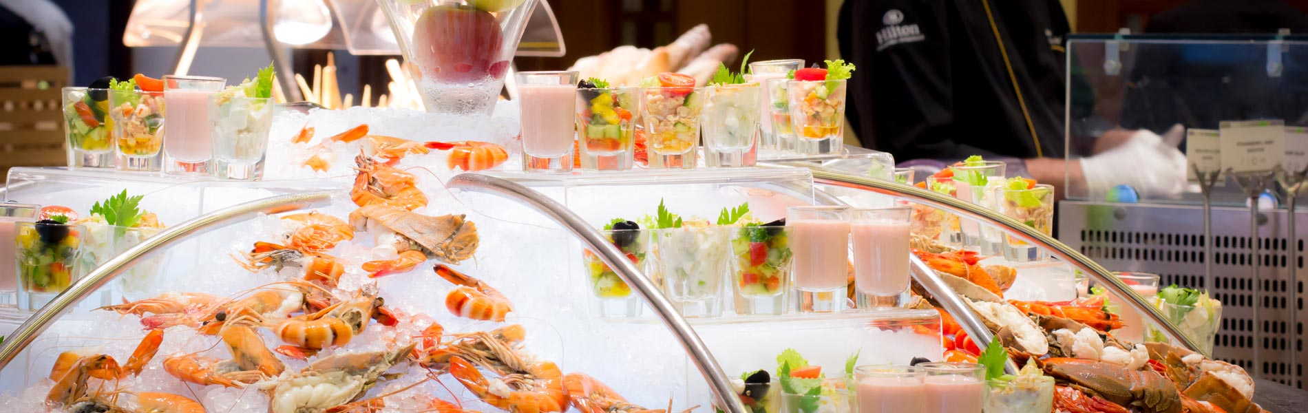 The Sunday Brunch has an extensive range of delicacies for every member of the family